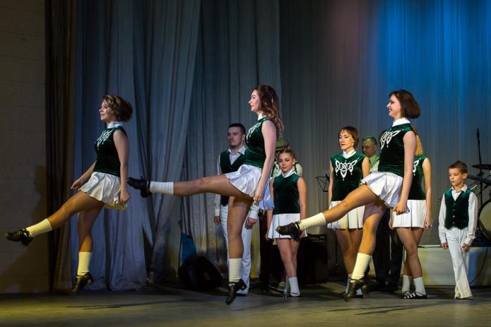 Шоу ирландской музыки и танца