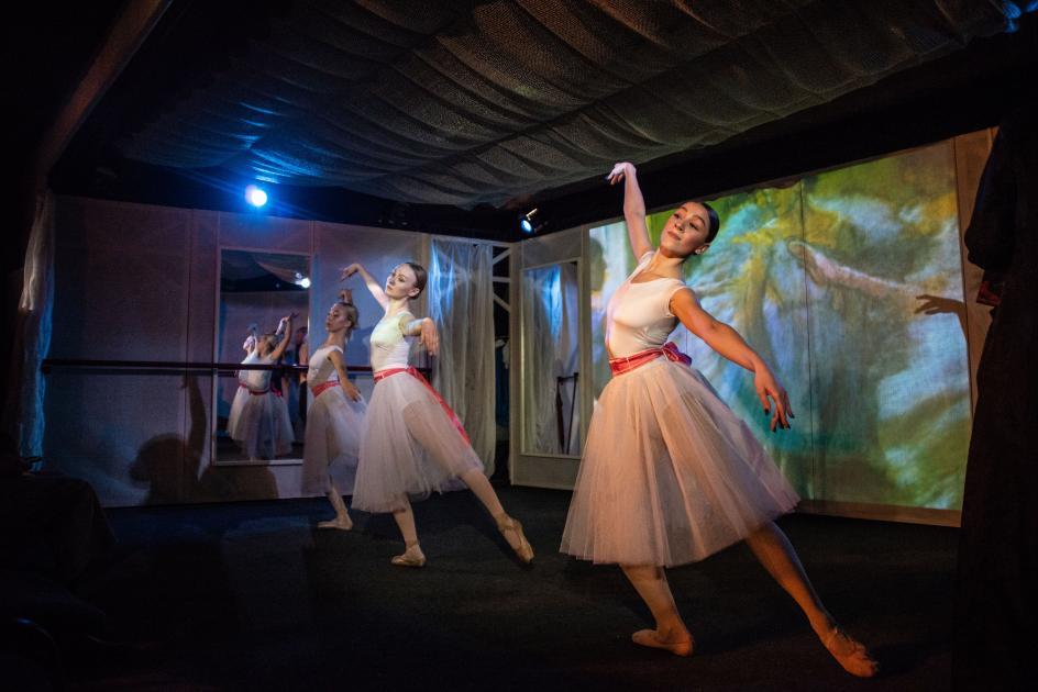 «Танцуем Эдгара Дега» - старый новый спектакль в Театре живописи