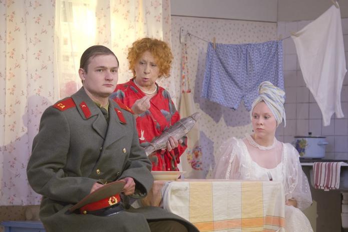 """Мой внук Вениамин (с Лией Ахеджаковой). ФЕСТИВАЛЬ """"МОЛОДЫЕ ТЕАТРЫ РОССИИ"""""""