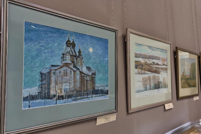 Юбилейная выставка Сергея Патрахина «Гармония Сибири»