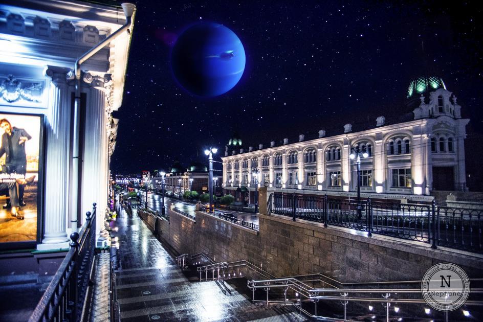 Авторские открытки «Омский парад планет»