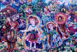«Ступеньки творчества» детского художественного коллектива «Палитра»
